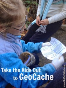 Fall Adventures: GeoCache with the Kids