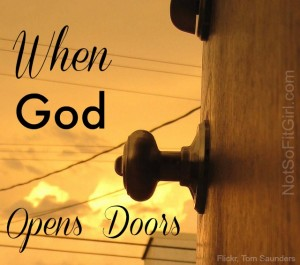 Waiting for God to Open Doors