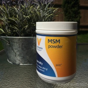 MSM Powder can be added to plain or flavored water.